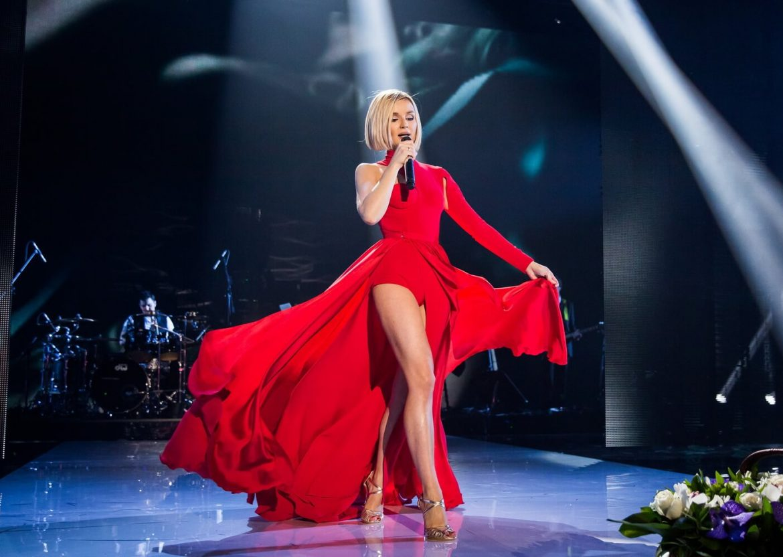 Поостер концерта Полина Гагарина