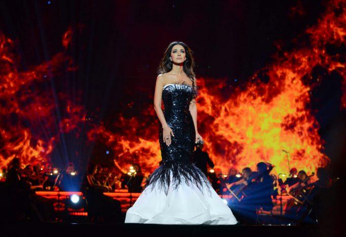 Концерт Зары в кремле